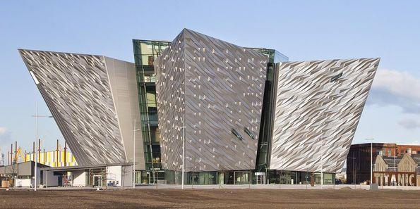 Invigning av Titanic-museum i Belfast