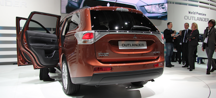 Mitsubishi Outlander presenterades på Genévesalongen tidigare i år.