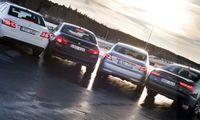 TEST: Audi A6 mot BMW 5-serie, Mercedes E-klass och Saab 9-5
