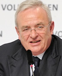 Martin Winterkorn Volkswagen AG 2012