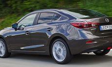 Avslöjad: Nya Mazda 3 som sedanmodell