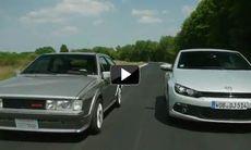 Film: Volkswagen Scirocco – gammal mot ny
