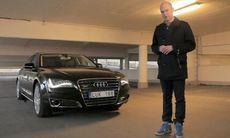 TV: Huldt provkör lyxlimpan Audi A8 L W12