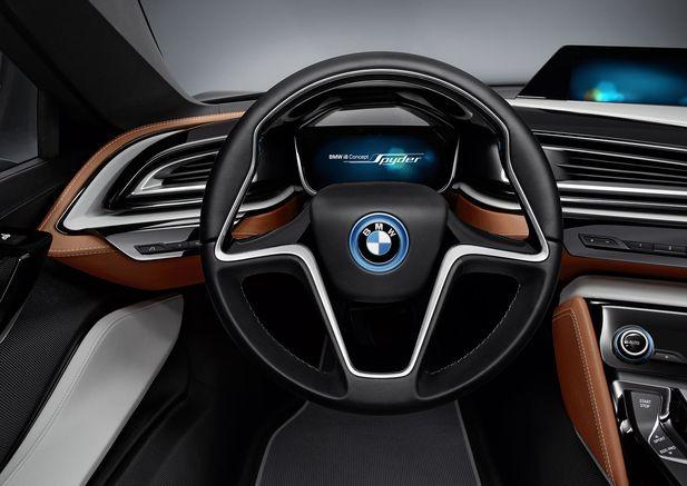 BMW i8 Concept Spyder premiärvisas i Beijing - Bild 525234