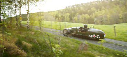 PROV: Morgan 3 Wheeler - det roligaste vi kört!