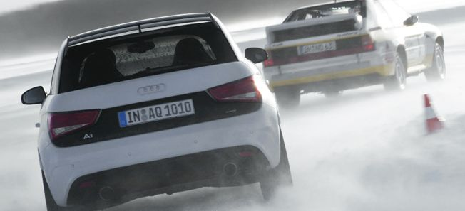 PROV: Audi A1 quattro - bäst i lilla GTI-klassen?