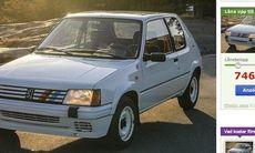 Dagens köp: Unik Peugeot 205 Rallye