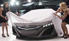 Honda NSX visad igen – nästan klar