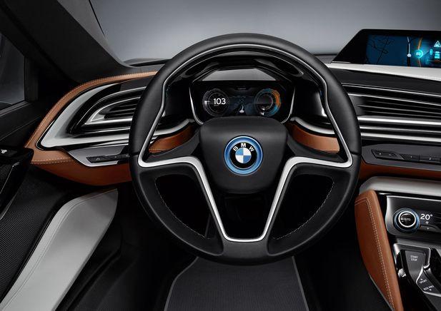 BMW i8 Concept Spyder premiärvisas i Beijing - Bild 525238