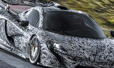 McLaren P1 – se den köras på testbanan