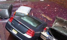 Stormen Sandy förstörde 200.000 bilar