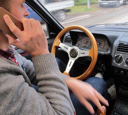 mobilprat bilförare