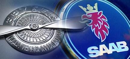 Saab Spyker SWAN logo