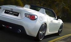 Toyota FT 86 bjuder på taklös körglädje