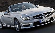 Mercedes visar nya SL 63 AMG – med Michael Schumacher