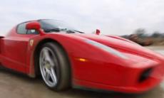 Film: Rallykörning med Ferrari Enzo