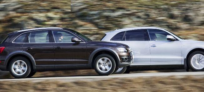 TEST: Audi Q5 TFSI mot Audi Q5 Hybrid