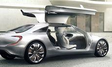 Mercedes F125 visar framtidens S-klass