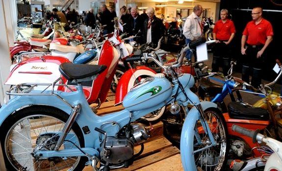 Mopedutställning invigd i Borlänge