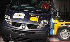 Renault Trafic floppar i krocktest
