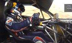 Åk med Sébastien Loeb och Peugeot 208 T16 uppför Pikes Peak