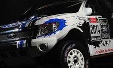 Dakar-rally med fet Ford Ranger