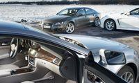 TEST: Audi A7 mot Mercedes CLS 350 och Porsche Panamera 4