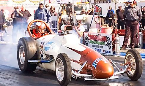 Nostalgi Top Fuel och Funny cars