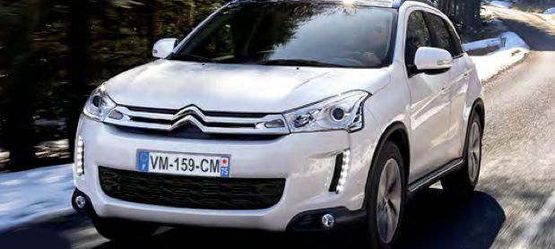 PROV: Citroën C4 Aircross - som Mitsubishi ASX