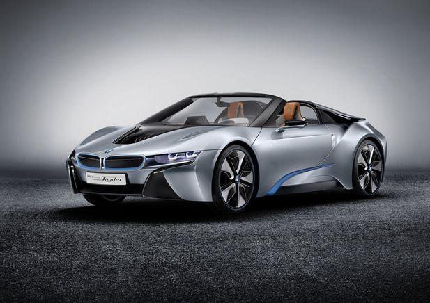 BMW i8 Concept Spyder premiärvisas i Beijing - Bild 525247