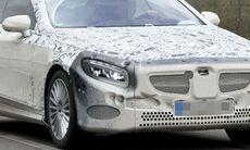 Spion: Mercedes S-klass Coupé visar upp sig
