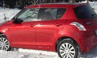 PROV: Suzuki Swift har blivit tuff