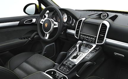 Porsche Cayenne GTS interior inredning