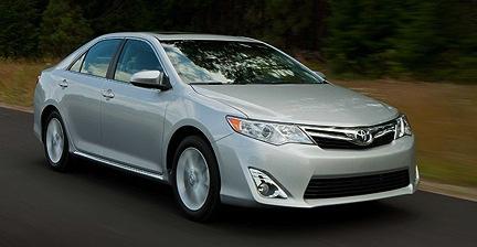 Toyota Camry 2012 USA 404.900