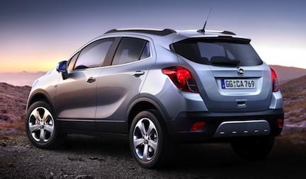 Opel Mokka MY2013 suv B-segment