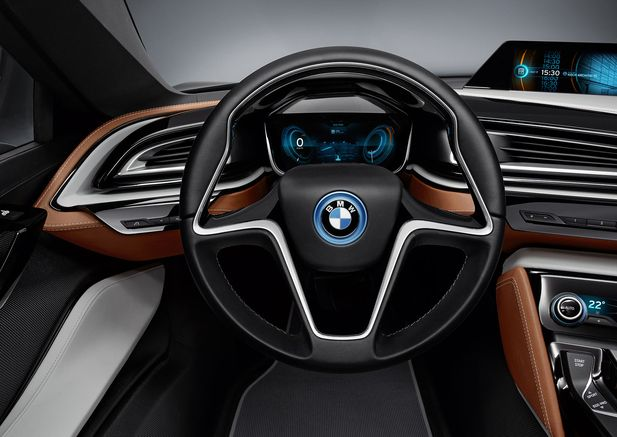 BMW i8 Concept Spyder premiärvisas i Beijing - Bild 525236