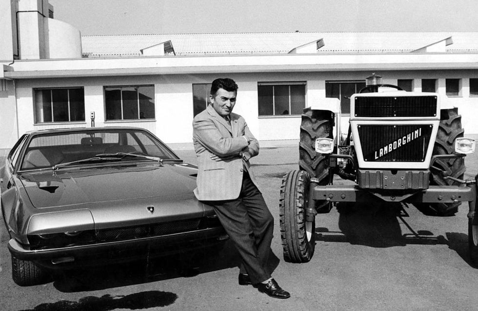 Ferruccio Lamborghini 1968