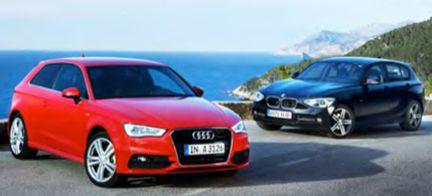 PROV: Audi A3 mot BMW 1-serie - bästa lyxkompakten