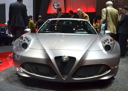 Alfa Romeo 4C Genève