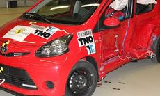 Toyota Aygo tappar en stjärna i Euro NCAP