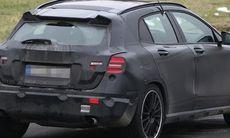 Spion: Mercedes GLA 45 AMG på Nürburgring!