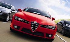 Alfa Romeo storsatsar med bakhjulsdrift