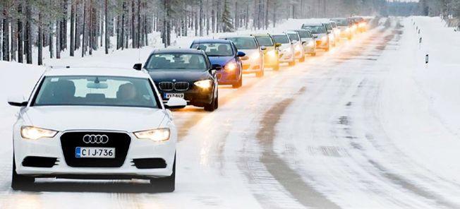Vintertest: 16 bilar - bästa vinterbilen