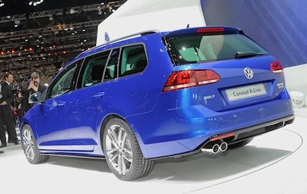 Volkswagen Golf Variant Concept R-Line Geneva 2013