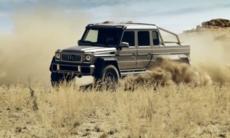 Mercedes G63 AMG 6x6 - Se video!