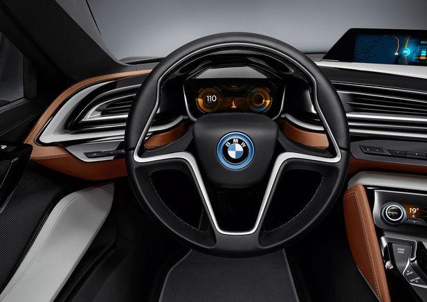 BMW i8 Concept Spyder premiärvisas i Beijing - Bild 525235