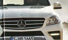 Smygtitt på nya Mercedes M-klass