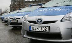 Tyska polisen köper in Toyota Prius