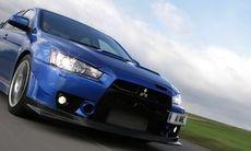Mitsubishi Evo blir dieselhybrid om tre år