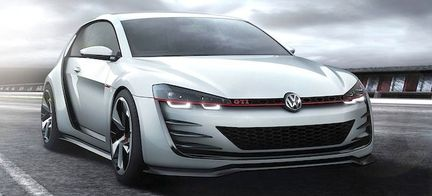 VW Golf Design Vision GTI – redo för race